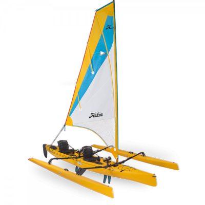 Hobie Mirage Tandem Island Kayak_papaya