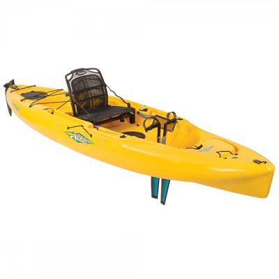 Hobie mirage outback _kayak_nauticalventures.com_papaya yellow