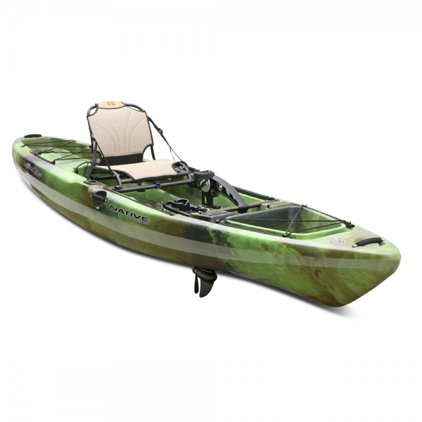 Native watercraft slayer 13 propel kayak nautical for Native fishing kayak